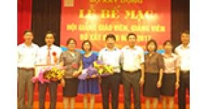 Lễ bế giảng và trao bằng tốt nghiệp trung cấp nghề khóa 54